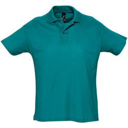 Vêtements Homme Polos manches courtes Sols Summer II Bleu canard