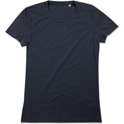 Vêtements Femme T-shirts manches courtes Stedman Active Bleu nuit