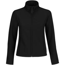 Vêtements Femme Polaires B And C Softshell Noir/Noir