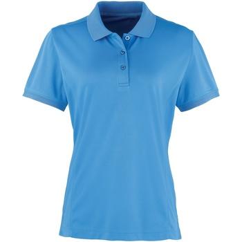 Vêtements Femme Polos manches courtes Premier Coolchecker Saphir