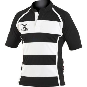 Vêtements Homme T-shirts manches courtes Gilbert Xact Noir/Blanc
