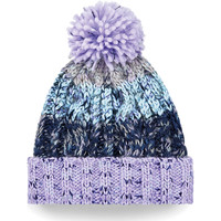 Accessoires textile Enfant Bonnets Beechfield Corkscrew Violet / Multicolore