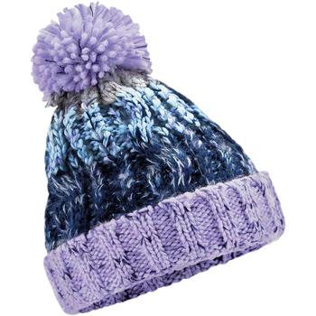 Accessoires textile Enfant Bonnets Beechfield Beanie Violet / Multicolore