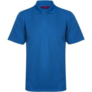 Vêtements Homme Polos manches courtes Henbury HB475 Bleu moyen