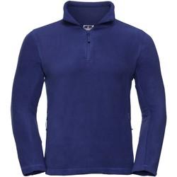 Vêtements Homme Polaires Russell Polaire à fermeture zippée BC1438 Bleu roi vif