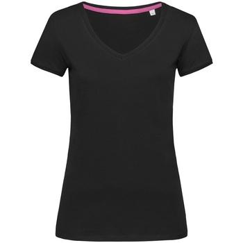 Vêtements Femme T-shirts manches courtes Stedman Stars Megan Noir