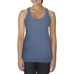 Vêtements Femme Débardeurs / T-shirts sans manche Comfort Colors Racerback Bleu