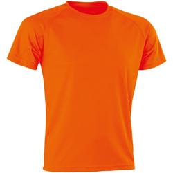 Vêtements Homme T-shirts manches courtes Spiro Aircool Orange vif