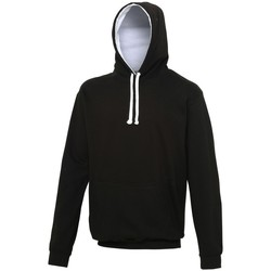 Vêtements Sweats Awdis Hooded Noir / blanc