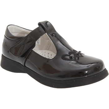 Chaussures Fille Ballerines / babies Boulevard  Noir verni
