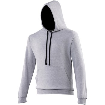 Vêtements Sweats Awdis Hooded Gris chiné / noir