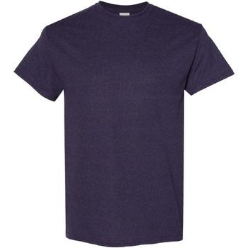 Vêtements Homme T-shirts manches courtes Gildan Heavy Violet foncé