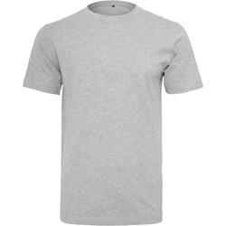 Vêtements Homme T-shirts manches courtes Build Your Brand BY004 Gris chiné