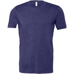 Vêtements Homme T-shirts manches courtes Bella + Canvas Jersey Bleu nuit chiné