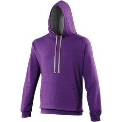 Vêtements Sweats Awdis Hooded Violet / gris