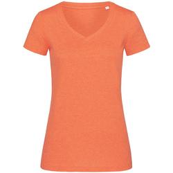 Vêtements Femme T-shirts manches courtes Stedman Stars Melange Citrouille chiné