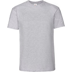 Vêtements Homme T-shirts manches courtes Fruit Of The Loom Premium Gris chiné