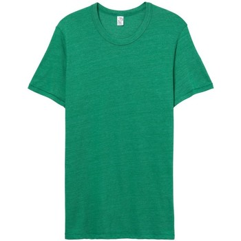 Vêtements Homme T-shirts manches courtes Alternative Apparel Jersey Vert chiné