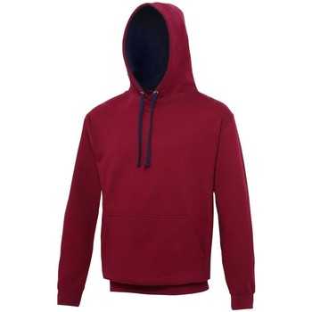 Vêtements Sweats Awdis Hooded Bordeaux / bleu marine