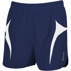 Vêtements Homme Shorts / Bermudas Spiro S183X Bleu marine/Blanc