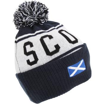 Accessoires textile Bonnets Devoted2Style Scotland Bleu marine