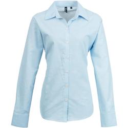 Vêtements Femme Chemises / Chemisiers Premier PR334 Bleu clair