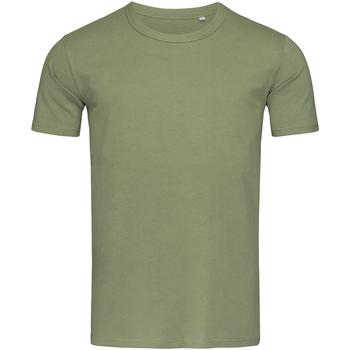 Vêtements Homme T-shirts manches courtes Stedman Stars Morgan olive