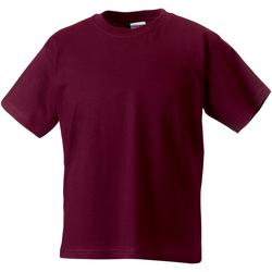 Vêtements Enfant T-shirts manches courtes Jerzees Schoolgear Classics Bordeaux