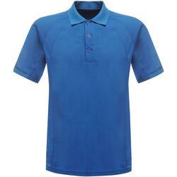 Vêtements Homme Polos manches courtes Regatta Coolweave Bleu Oxford