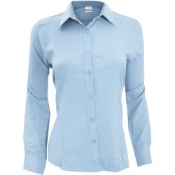 Vêtements Femme Chemises / Chemisiers Henbury Wicking Bleu clair