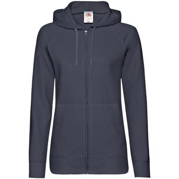 Vêtements Femme Sweats Fruit Of The Loom Lightweight Bleu marine profond