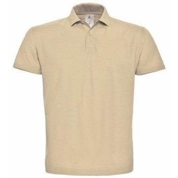 Vêtements Homme Polos manches courtes B And C ID.001 Beige