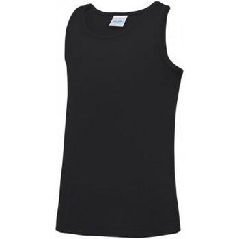 Vêtements Enfant Débardeurs / T-shirts sans manche Awdis Just Cool Noir