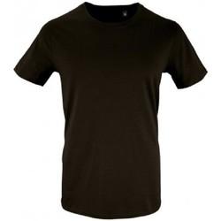 Vêtements Homme T-shirts manches courtes Sols Milo Noir