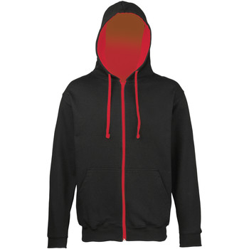 Vêtements Homme Sweats Awdis Varsity Noir/Rouge feu