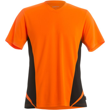 Vêtements Homme T-shirts manches courtes Gamegear Cooltex Orange/Noir