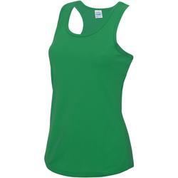 Vêtements Femme Débardeurs / T-shirts sans manche Just Cool Girlie Vert tendre