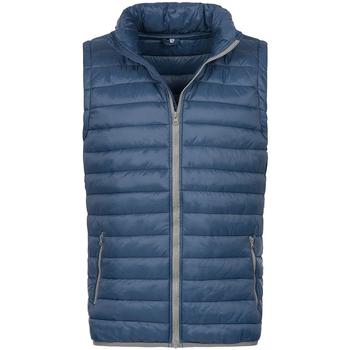 Vêtements Homme Gilets / Cardigans Stedman Active Bleu foncé