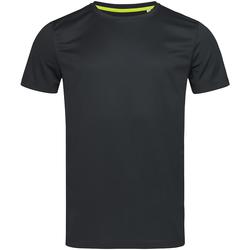 Vêtements Homme T-shirts manches courtes Stedman Mesh Noir