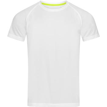 Vêtements Homme T-shirts manches courtes Stedman Active Blanc