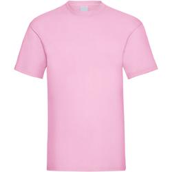 Vêtements Homme T-shirts manches courtes Universal Textiles Casual Rose clair