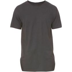 Vêtements Homme T-shirts manches courtes Bella + Canvas Long Body Gris sombre