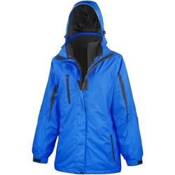 Vêtements Femme Coupes vent Result Softshell Bleu roi / Noir