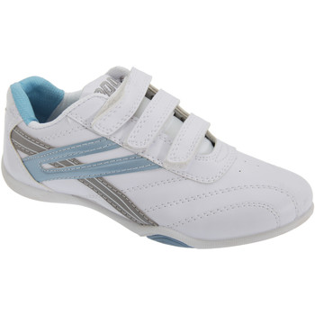 Chaussures Femme Baskets basses Dek Raven Blanc/Bleu clair