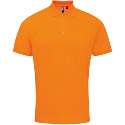 Vêtements Homme Polos manches courtes Premier Coolchecker Orange néon