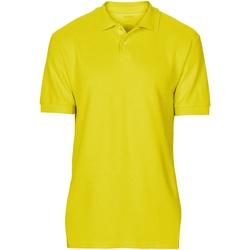 Vêtements Homme Polos manches courtes Gildan Softstyle Jaune