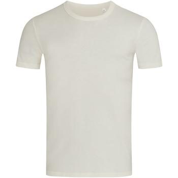 Vêtements Homme T-shirts manches courtes Stedman Stars Morgan Ecru
