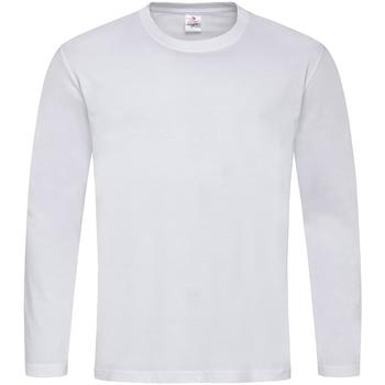 Vêtements Homme T-shirts manches longues Stedman Classics Blanc