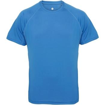 Vêtements Homme T-shirts manches courtes Tridri Panel Saphir