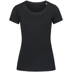 Vêtements Femme T-shirts manches courtes Stedman Stars Organic Noir